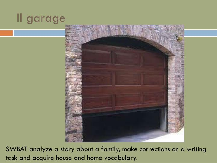 Il garage
