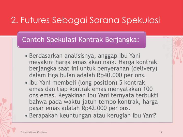 2. Futures