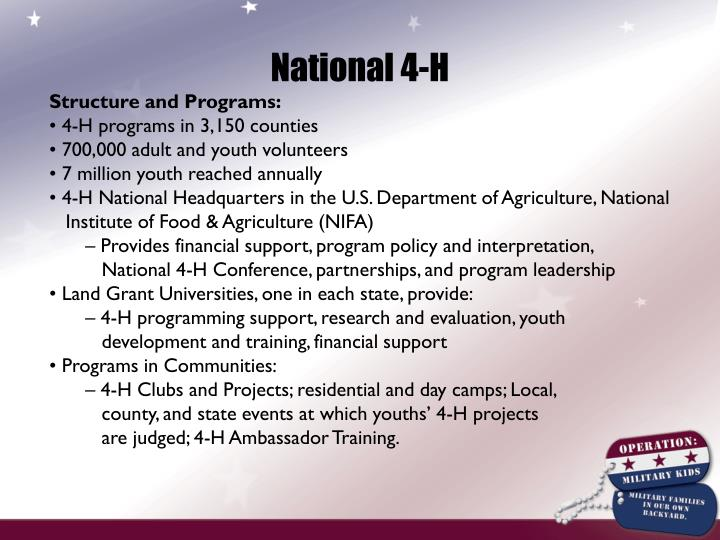 National 4-H