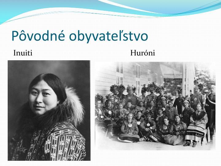 Pôvodné obyvateľstvo
