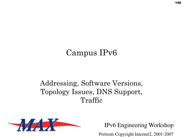 Campus IPv6