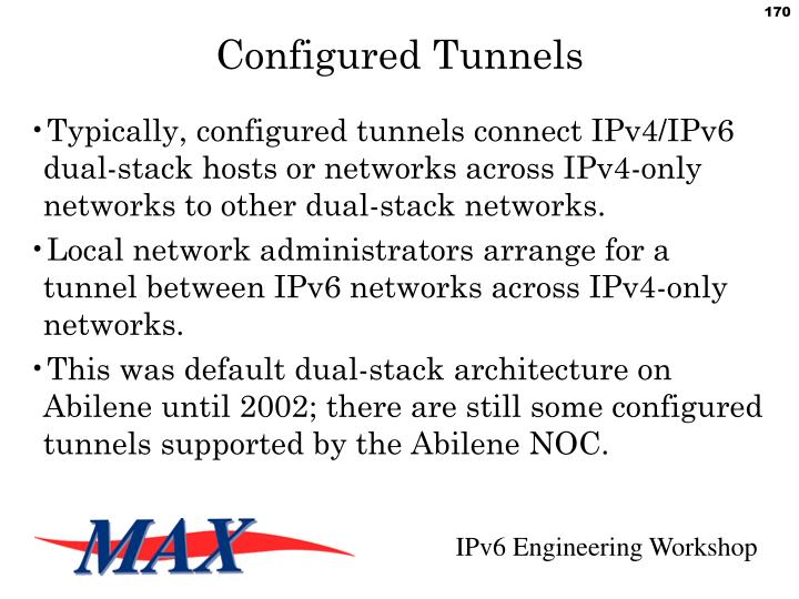 Configured Tunnels