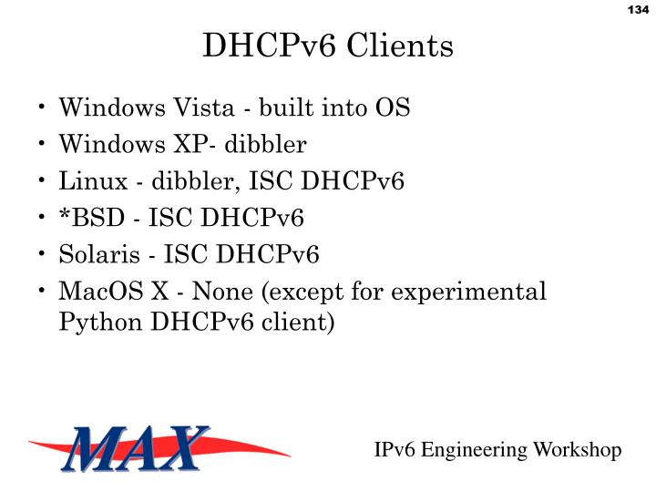 DHCPv6 Clients