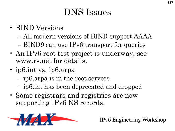 DNS Issues