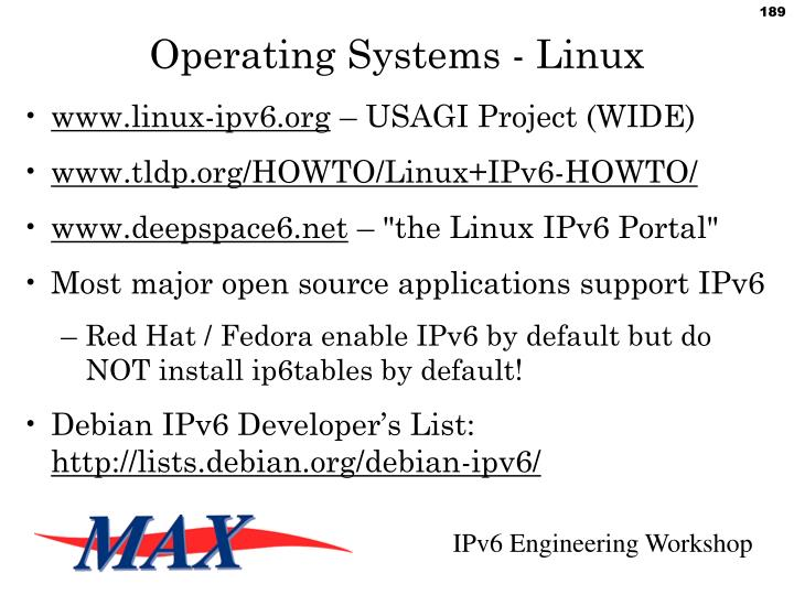 Operating Systems - Linux
