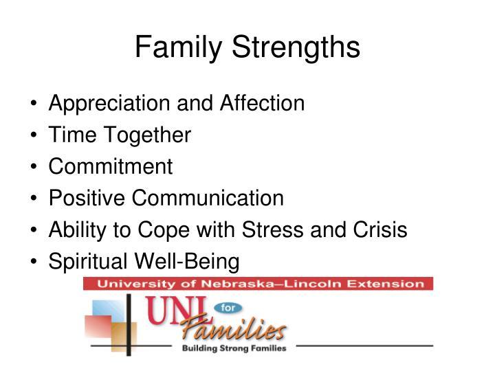 Family Strengths