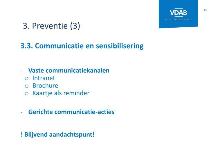 3. Preventie (3)