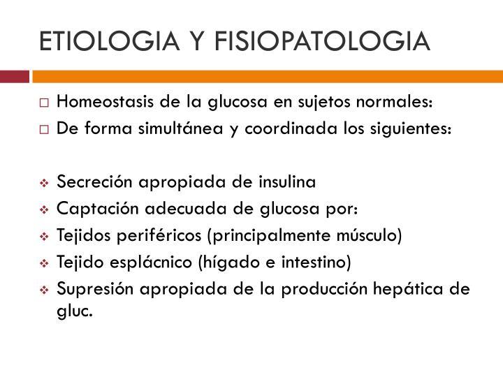 ETIOLOGIA Y FISIOPATOLOGIA
