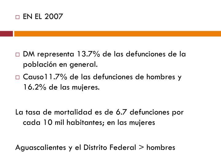 EN EL 2007