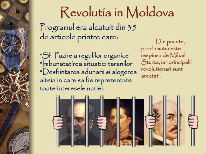 Revolutia in Moldova