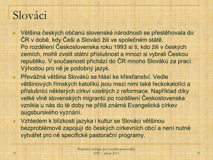 Slováci