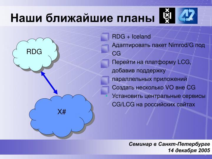 RDG + Iceland