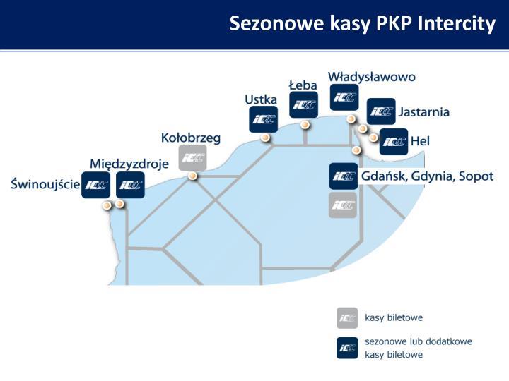 Sezonowe kasy PKP Intercity