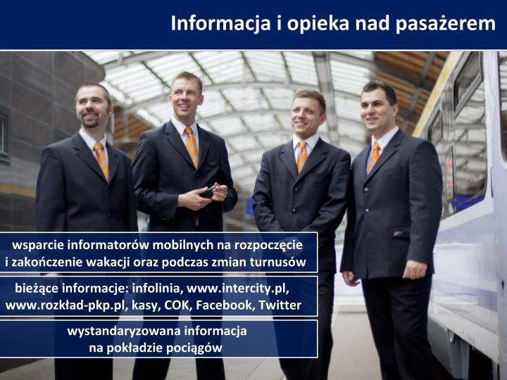 Informacja i opieka nad pasażerem