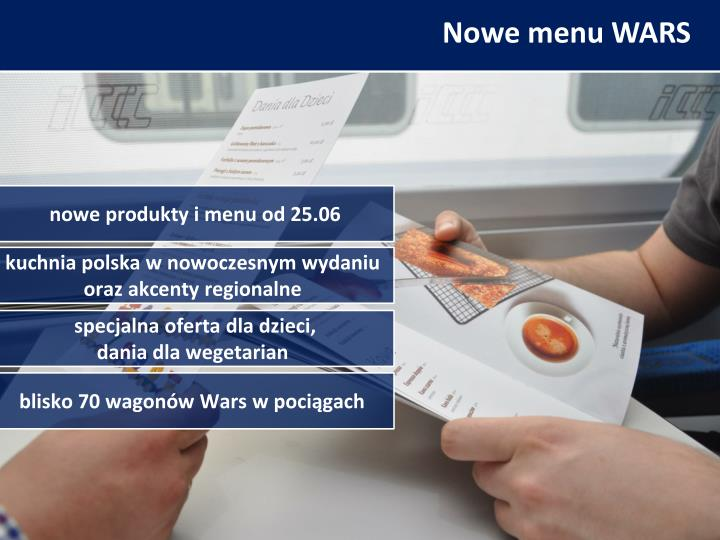 Nowe menu WARS