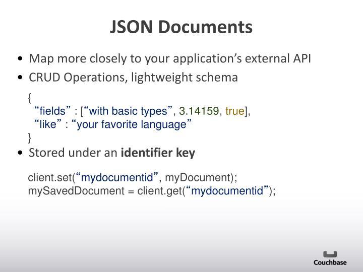 JSON Documents
