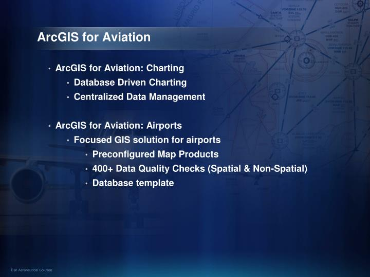 ArcGIS for Aviation
