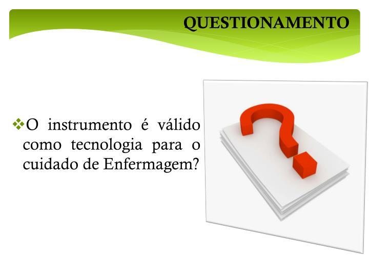 QUESTIONAMENTO