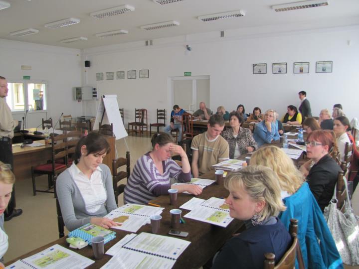 Aktywizacja mieszkańców – spotkania, szkolenia, doradztwo