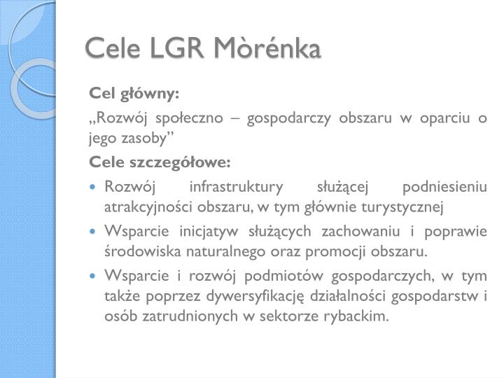 Cele LGR Mòrénka