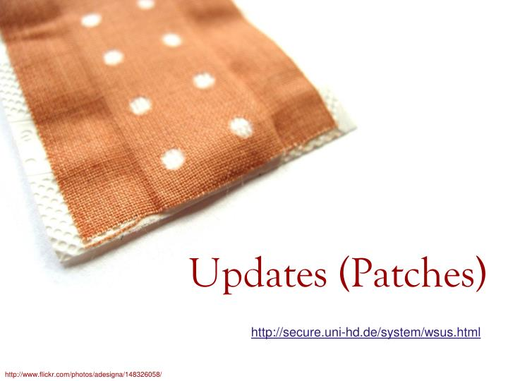 Updates patches