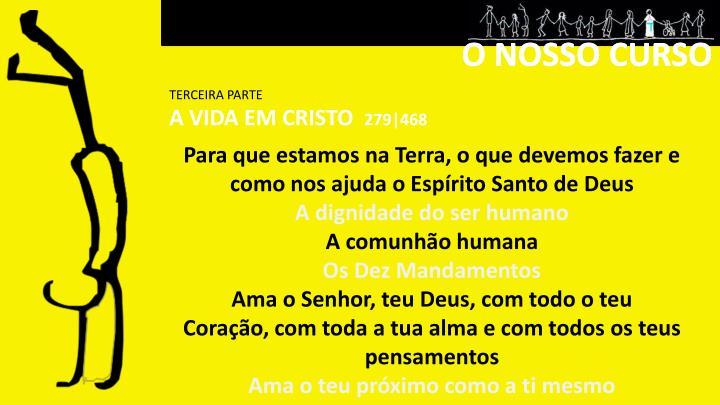 O NOSSO CURSO