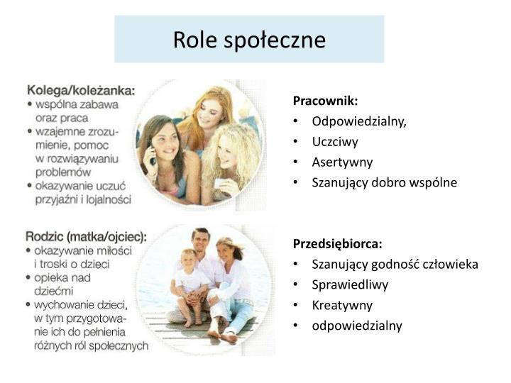 Role spoeczne