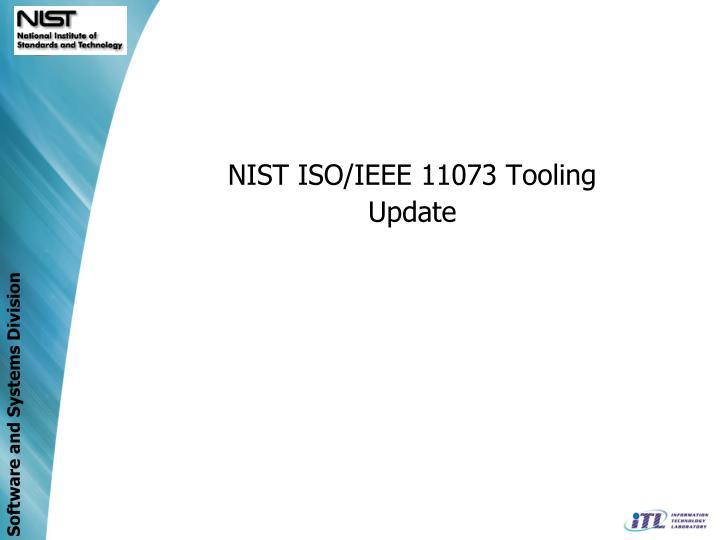 NIST ISO/IEEE 11073 Tooling