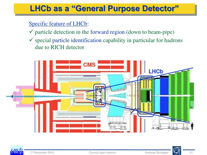 "LHCb as a ""General Purpose Detector"""