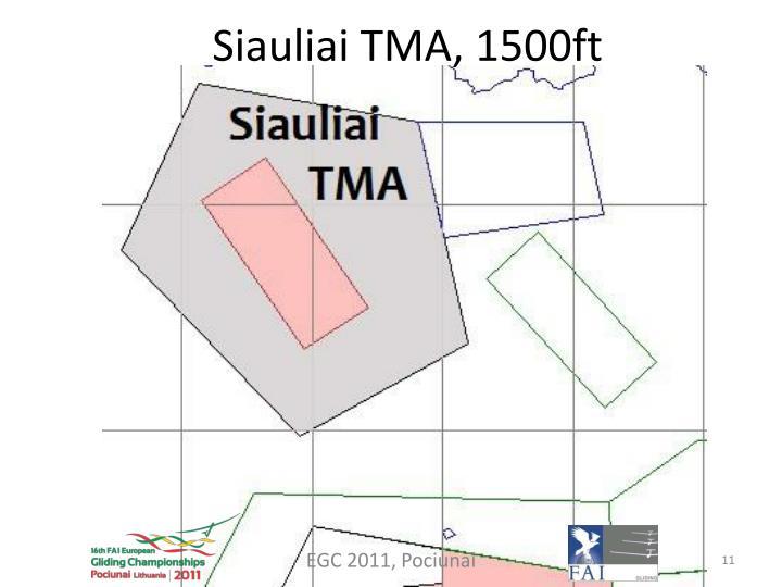 Siauliai TMA, 1500ft