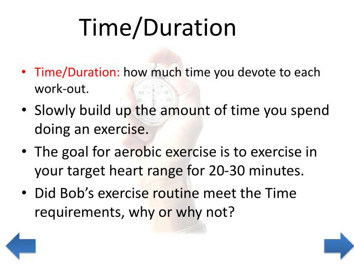 Time/Duration