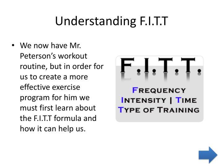 Understanding F.I.T.T