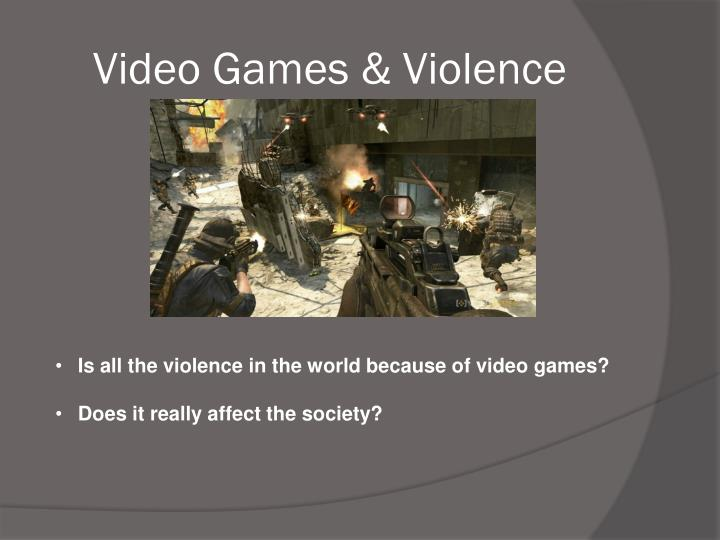The evolution of video game violence