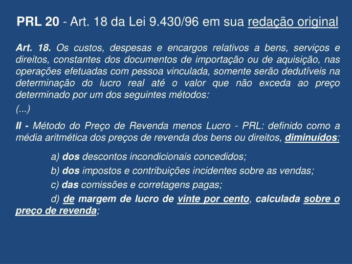 PRL 20