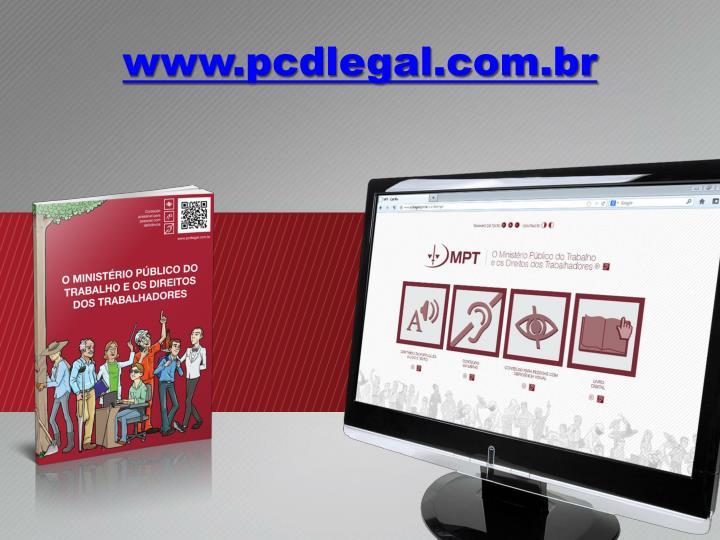 www.pcdlegal.com.br
