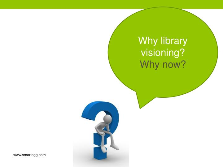 Why library visioning?
