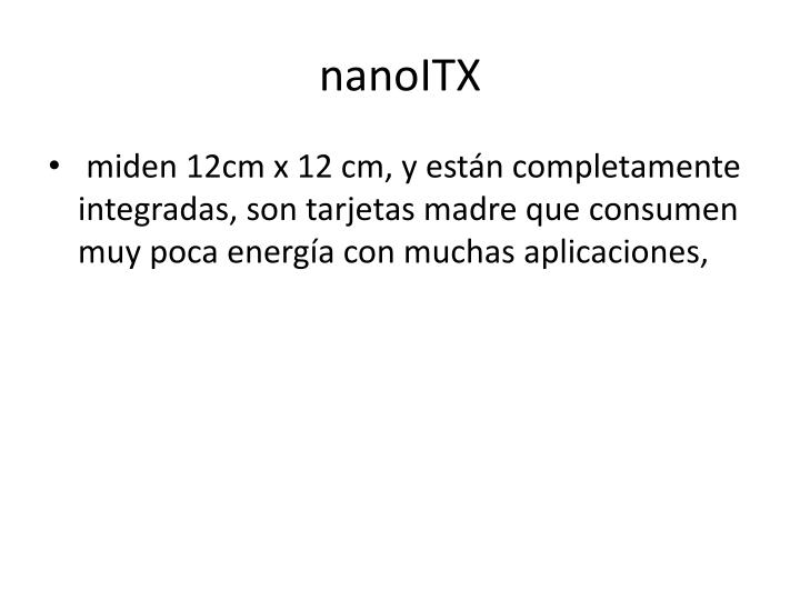 nanoITX