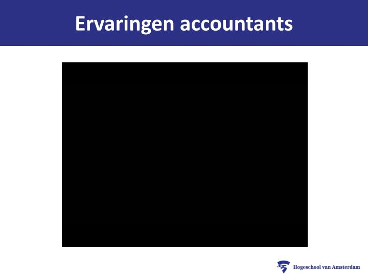 Ervaringen accountants