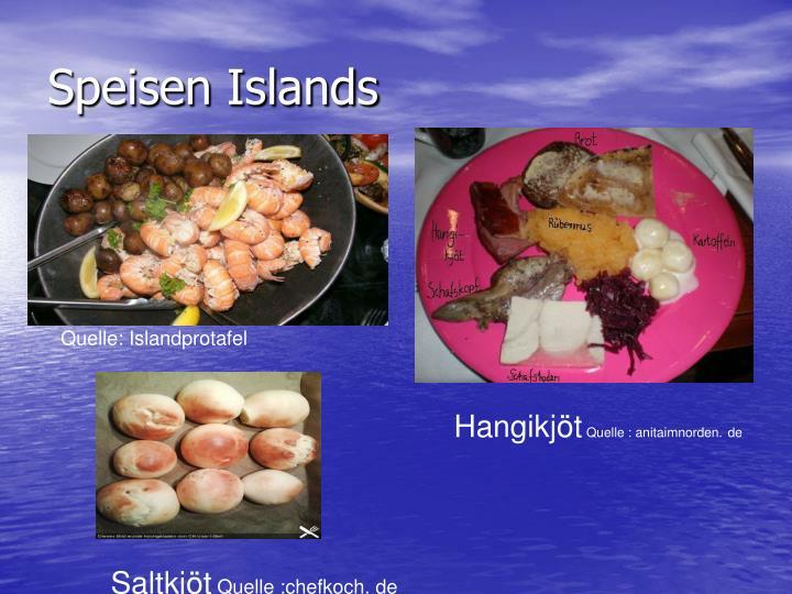 Speisen Islands