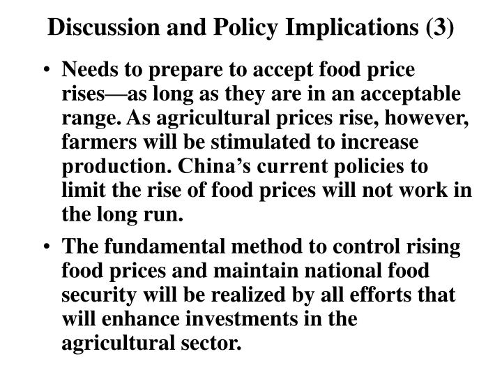 Discussion and Policy Implications (3)