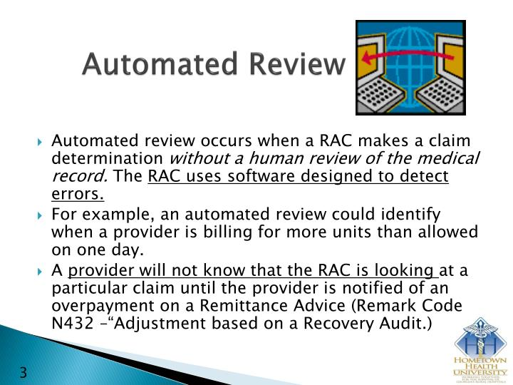 Automated review