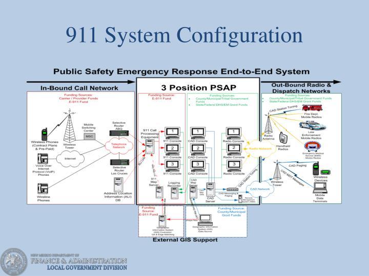 911 System Configuration