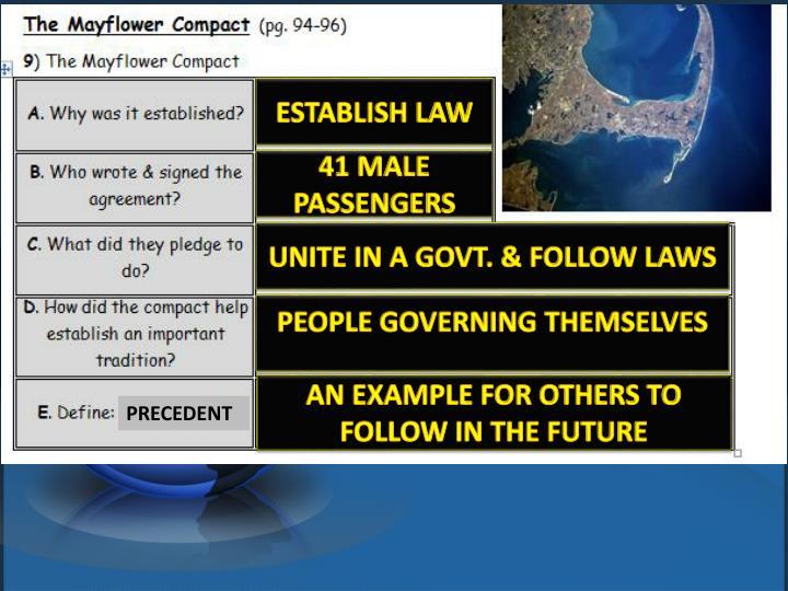 ESTABLISH LAW