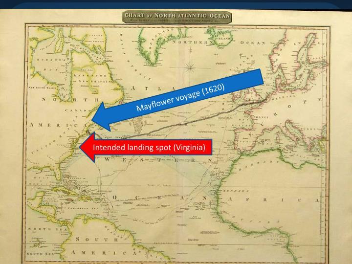 Mayflower voyage (1620)