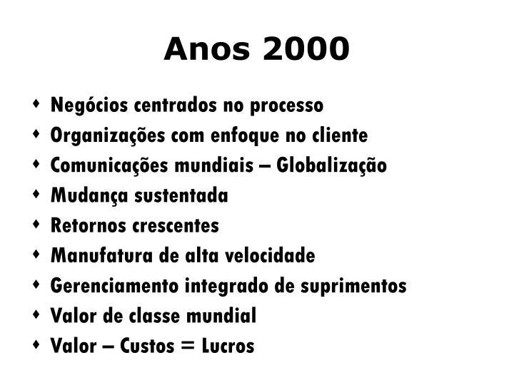 Anos 2000