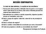 miss o corporativa