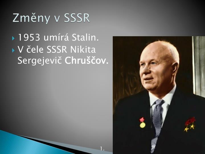 Změny v SSSR