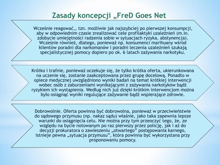 "Zasady koncepcji ""FreD Goes"