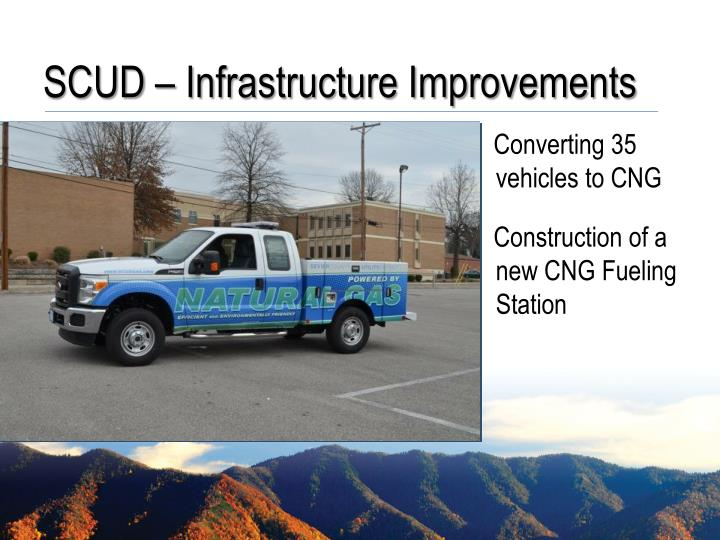 SCUD – Infrastructure Improvements