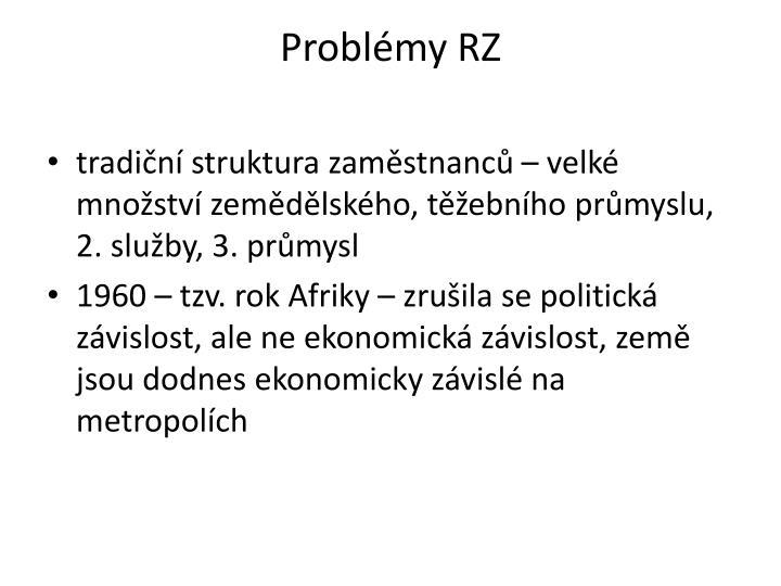 Problmy RZ